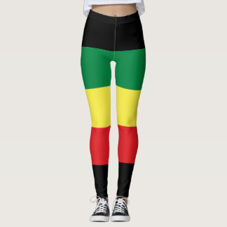 Rastafara power - Rasta Yoga - Reggae Leggins Leggings
