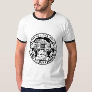 Rastafari, Haile Selassie I University - B/W Trim T-Shirt