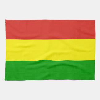 rastafarian flag towel jamaica religion