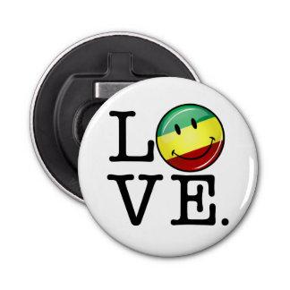 Rastafarian Love Happy Rasta Flag Bottle Opener