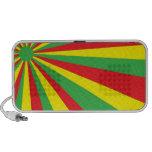 Rastafarian Vortex Doodle Speaker