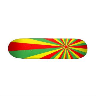 Rastafarian Vortex Skateboard Mini