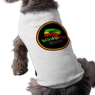 Rastarfarian Rights Logo Sleeveless Dog Shirt