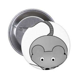 Rat 6 Cm Round Badge
