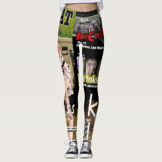 Rat a tat Tat Magazine cover leggings