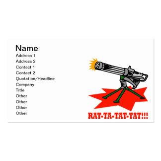 Rat A Tat Tat Pack Of Standard Business Cards