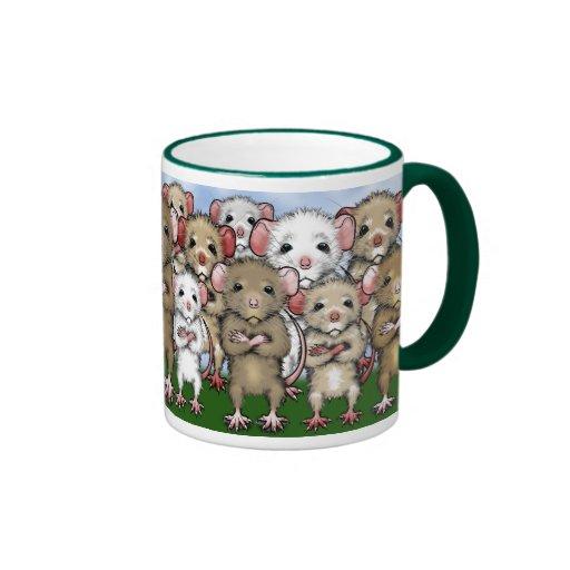 Rat Bunch Coffee Tea Mug