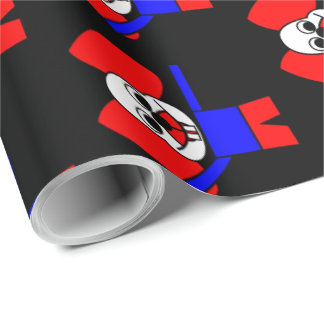Rat Chinese Zodiac Wrapping Paper