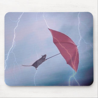 Rat In A Storm Mousepad