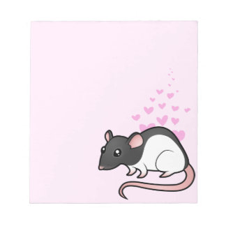Rat Love Notepad