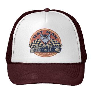 Rat Man Rusted Customs Cap