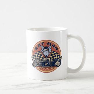 Rat Man Rusted Customs Classic White Coffee Mug