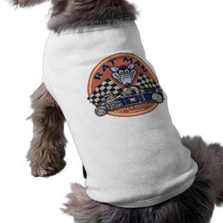 Rat Man Rusted Customs Sleeveless Dog Shirt