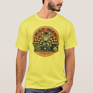 Rat Man Rusted Customs T-Shirt