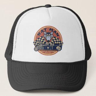 Rat Man Rusted Customs Trucker Hat