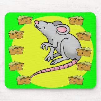 Rat pad mouse pad