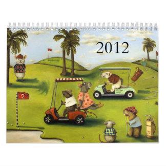 Rat Race 2012 calender Wall Calendars