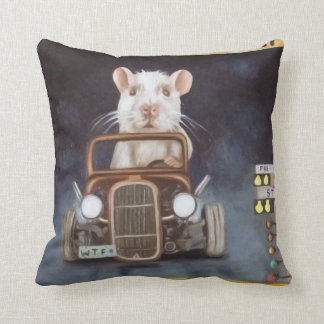 Rat Race Cushion