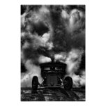 Rat Rod Burn Out Posters