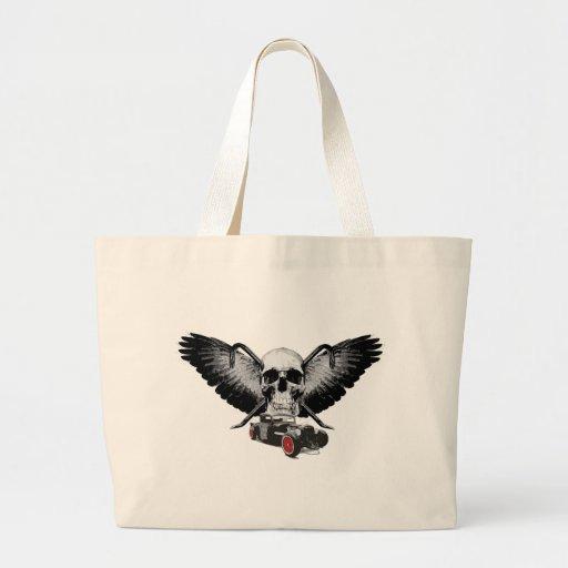 Rat Rod Skull & Crowbars Bag