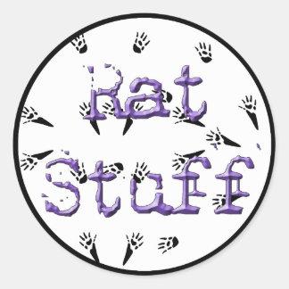 Rat Stuff Stickers