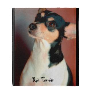 Rat Terrier iPad Folio Cases