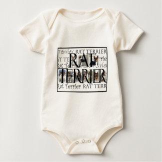 Rat Terrier Collage Baby Bodysuit