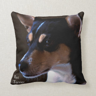 Rat Terrier Cushion