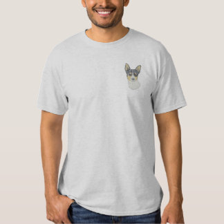 Rat Terrier Embroidered T-Shirt