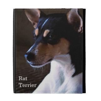 Rat Terrier iPad Folio Cover