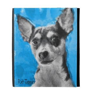 Rat Terrier, Modern Art, iPad Folio Covers