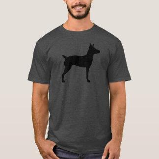 Rat Terrier Silhouette T-Shirt