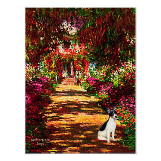 Rat Terrier - The Path Poster