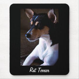 Rat Terrier v2 Mousepad