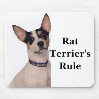 Rat Terrier's Rule Mouse Pad