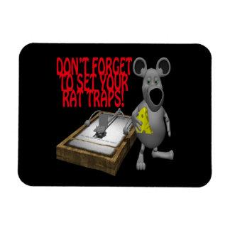Rat Traps Flexible Magnets