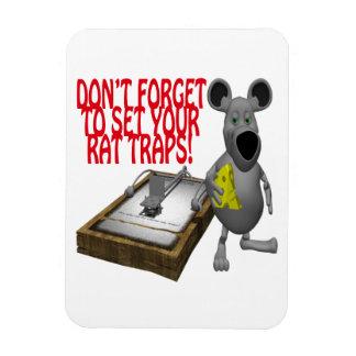 Rat Traps Magnets