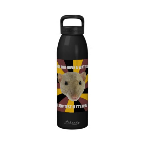 Water Bottle Neck Meme: Rat Water Bottle Meme