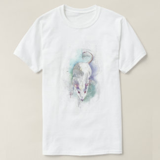 Rat watercolor shirt