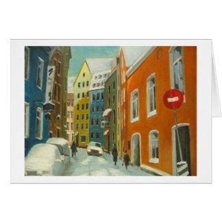 Rataskaevu Street, Tallinn Estonia Card