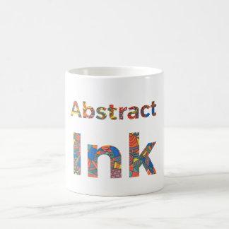 Rate Abstract Ink Coffee Mug