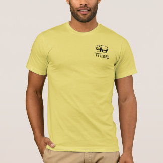Rate Rhino Yellow T-Shirt