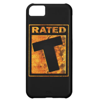 Rated-T for Teen iPhone 5C Case