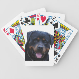 Rath Rottweiler Bicycle Playing Cards