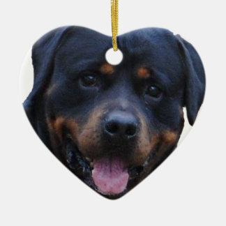 Rath Rottweiler Ceramic Ornament