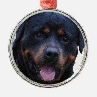 Rath Rottweiler Metal Ornament