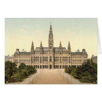 Rathaus, Vienna, Austria Card