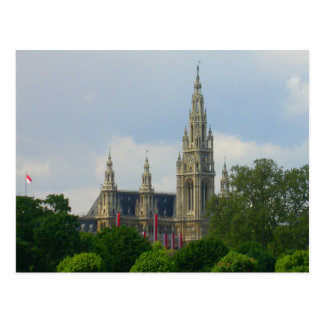 Rathaus, Vienna Austria Postcard