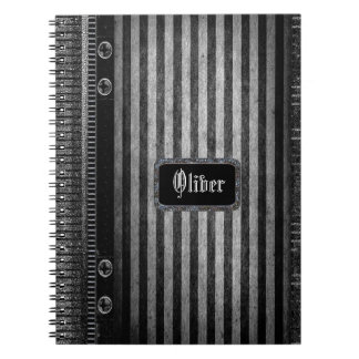 Rathbone Victorian Stripe Notebook