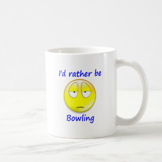 Rather Be Bowling Coffee Mugs